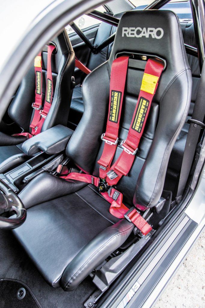 Tuning BMW E36 328i Coupé fotel kierowcy
