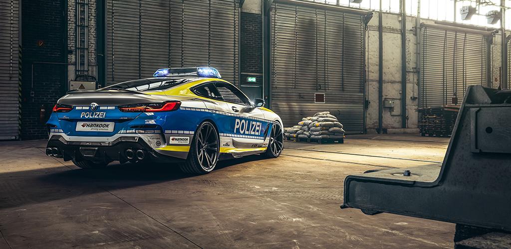 Radiowóz BMW M850i xDrive AC Schnitzer