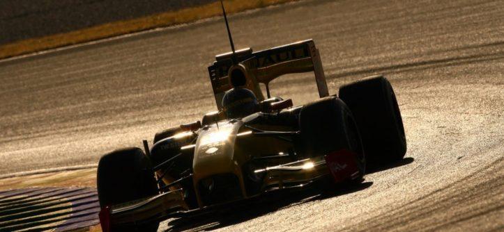F1 bolid Renault Kubica