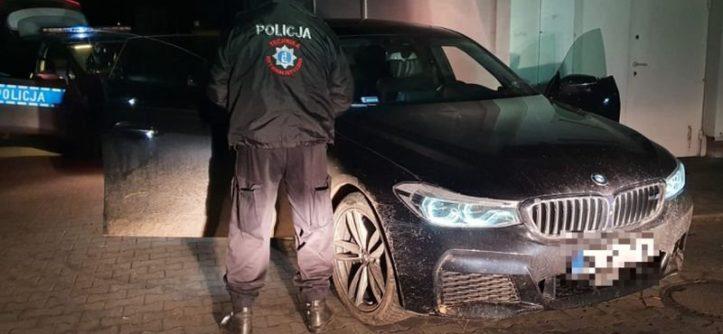 bmw policja