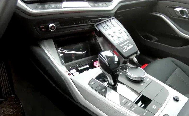 BMW nieoznakowane radiowozy