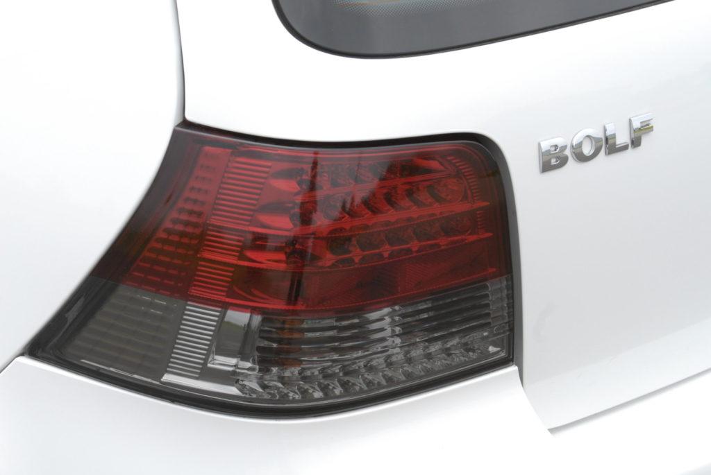 Bolf - połączenie Golfa i Bory tylny klosz