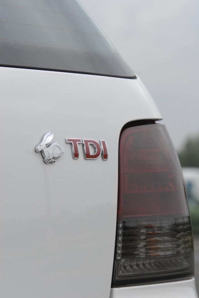 Bolf - połączenie Golfa i Bory logo TDI