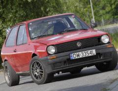 Tuning VW Polo 86C widok z przodu