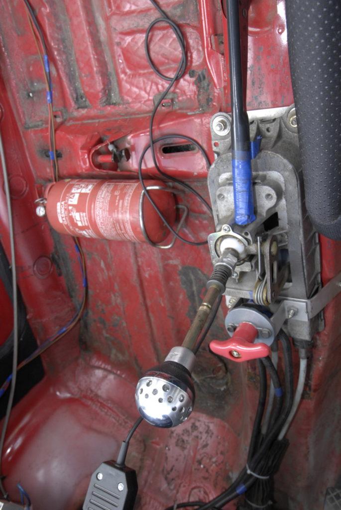 Tuning VW Polo 86C drążek zmiany biegów