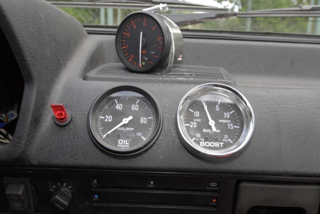 Tuning VW Polo 86C manometry