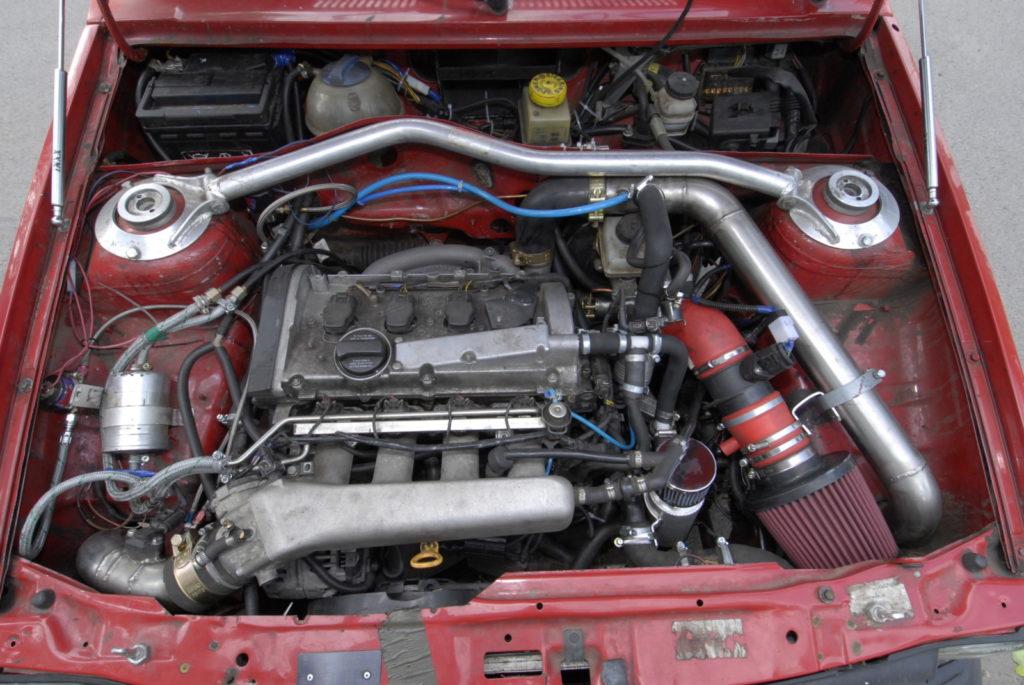Tuning VW Polo 86C silnik po swapie