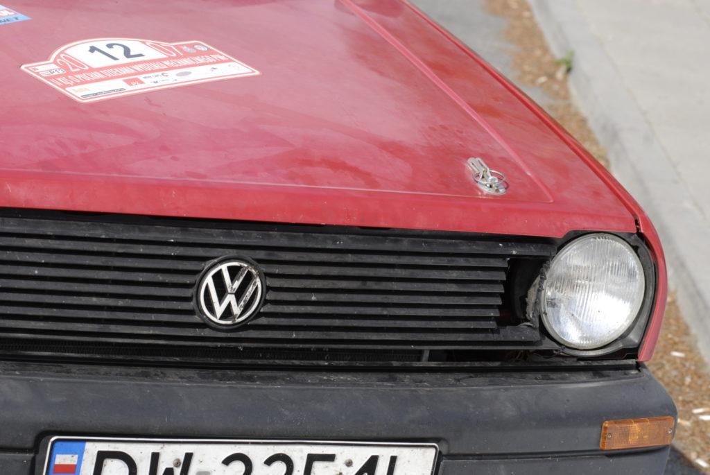 Tuning VW Polo 86C zapięcie maski silnika