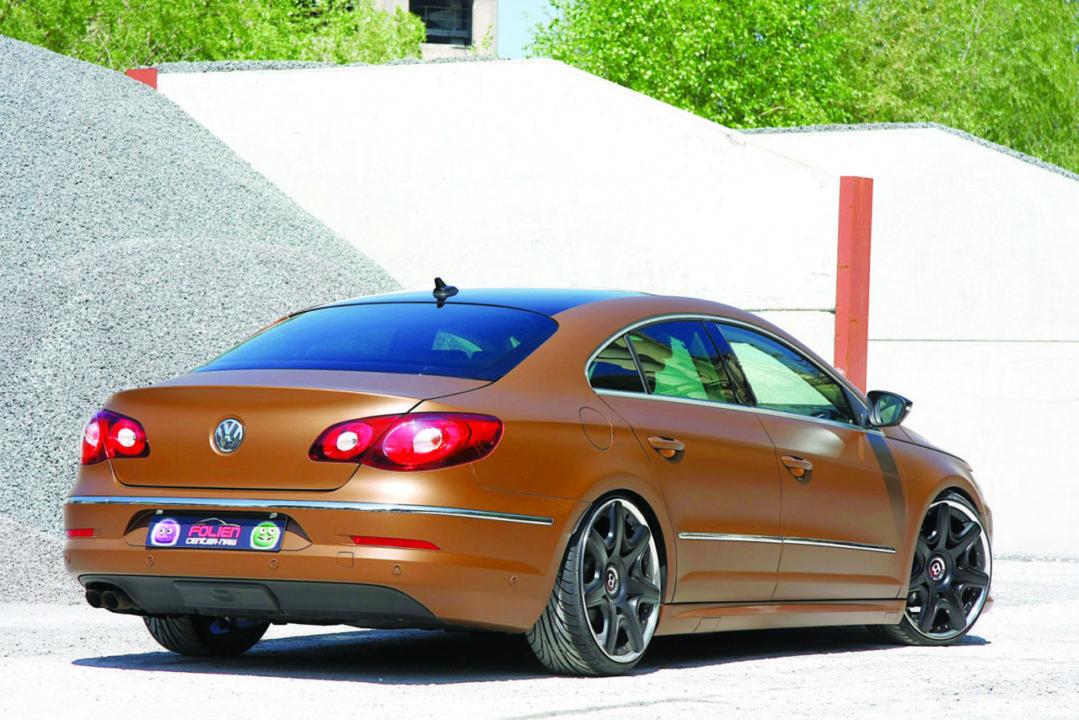 Tuning NRW w stylu rost VW CC widok z tyłu