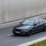 Tuning BMW E46 323Ti w czasie jazdy