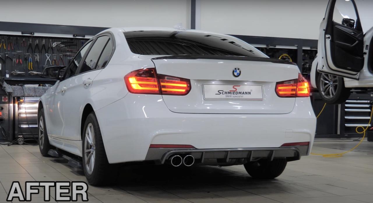 Schmiedmann SUpersprint BMW F30
