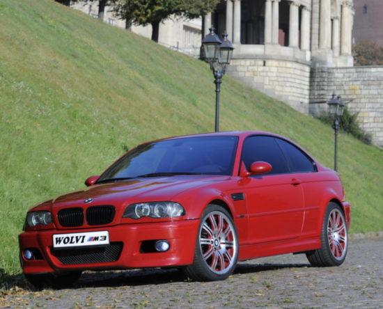 Tuning BMW E46 M3 widok z przodu