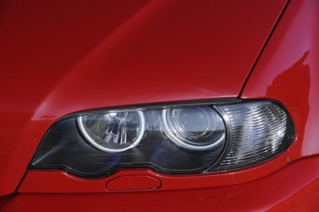 Tuning BMW E46 M3 reflektor przedni