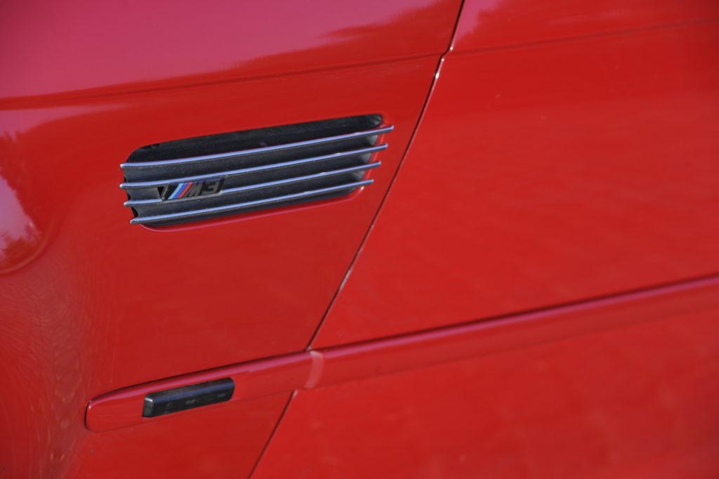 Tuning BMW E46 M3 wlot powietrza
