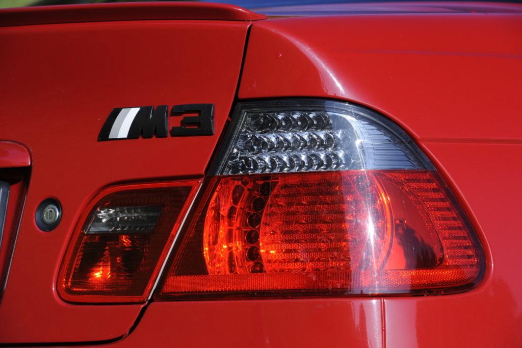 Tuning BMW E46 M3 tylny lampa