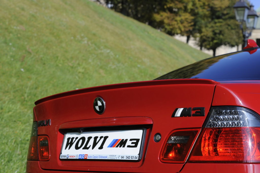Tuning BMW E46 M3 tylny spojler