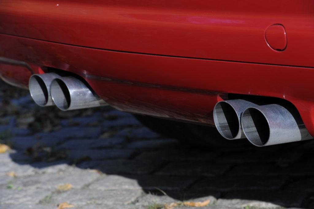 Tuning BMW E46 M3 rury wydechowe