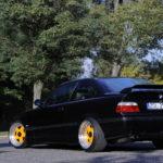 Tuning BMW E36 widok z tyłu