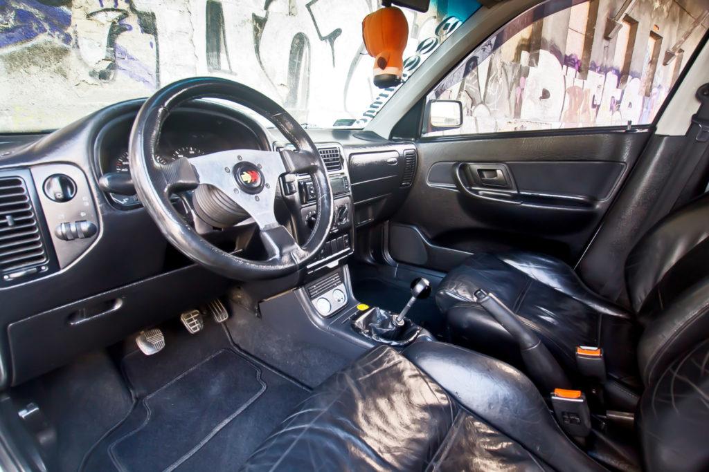 Tuning VW Caddy Mk1 kokpit