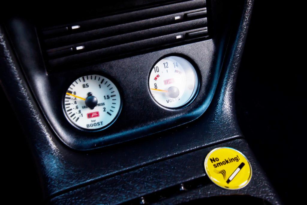 Tuning VW Caddy Mk1 manometry