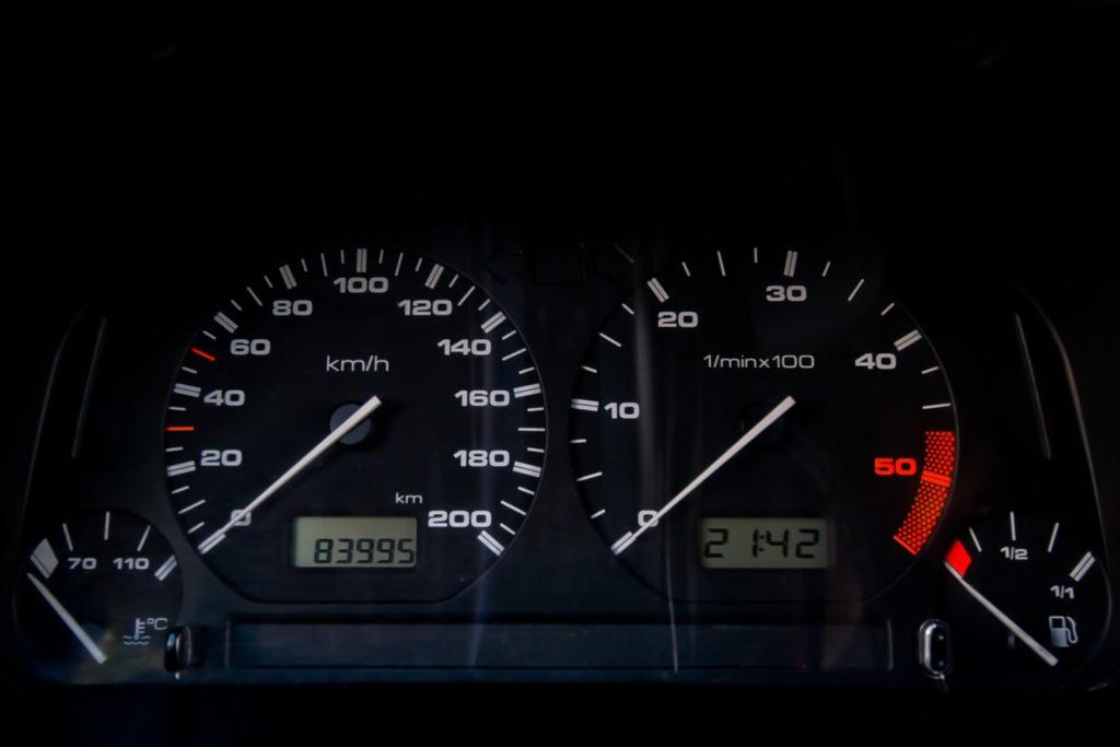 Tuning VW Caddy Mk1 zegary