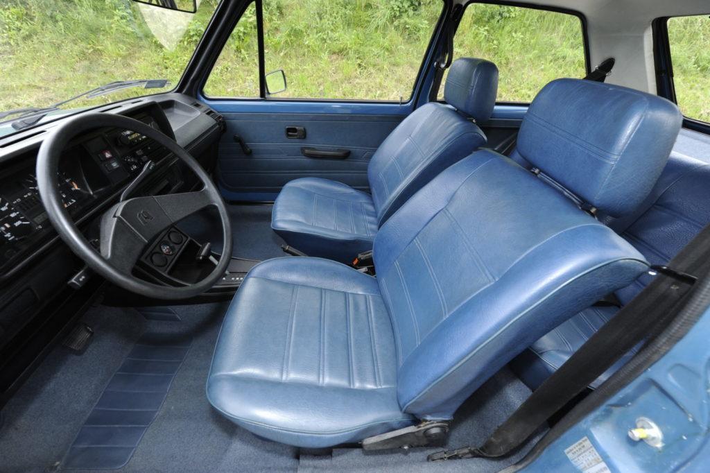 Tuning VW Golf 1 przednie fotele