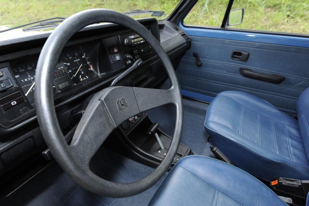 Tuning VW Golf 1 kokpit