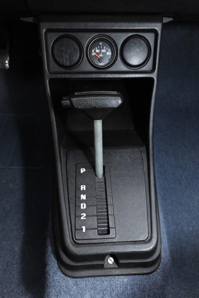 Tuning VW Golf 1 dźwignia zmiany biegów