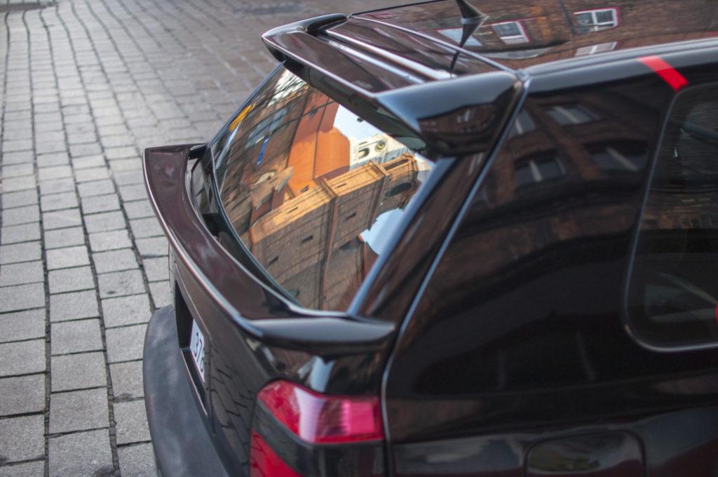 Tuning VW Golf 3 1.8 T spojlery na tylnej klapie