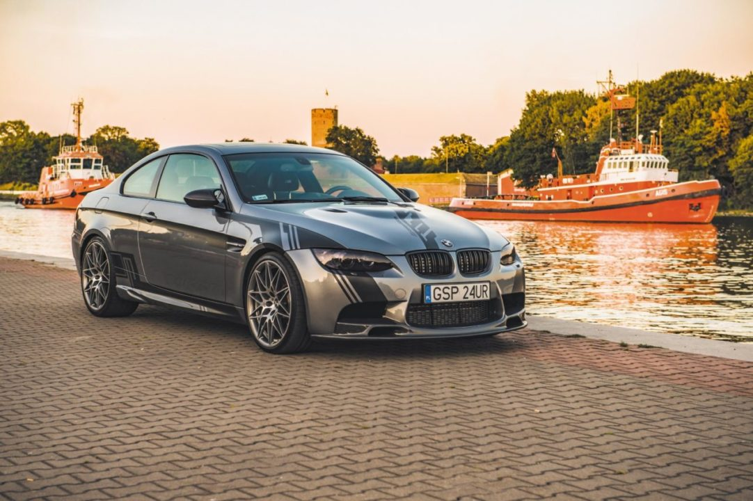 Tuning BMW E92 M3 auto przodem