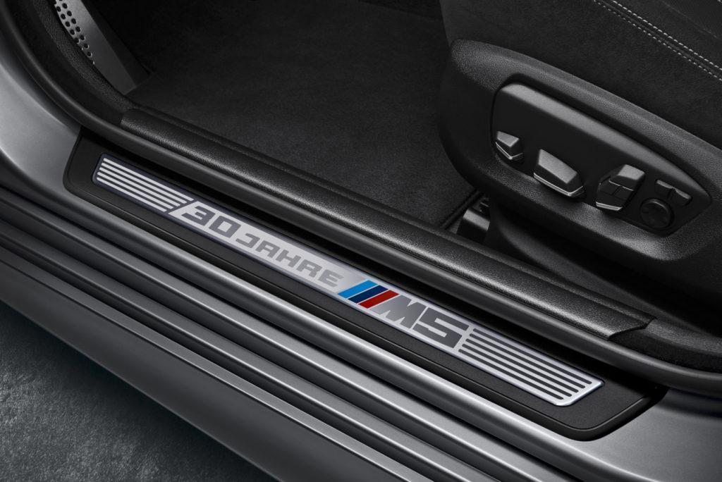 BMW M5 30 Jahre listwa progowa M5 30 Jahre