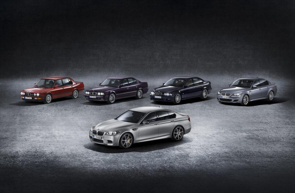 Generacje BMW M5