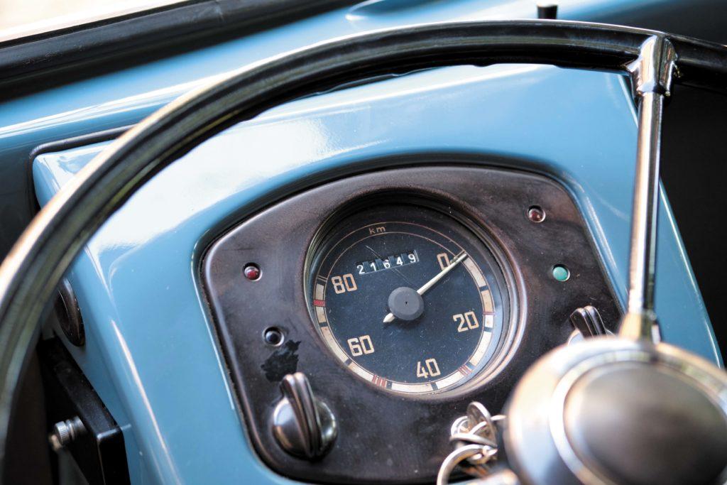 VW T1 Bulli Sofie licznik prędkości