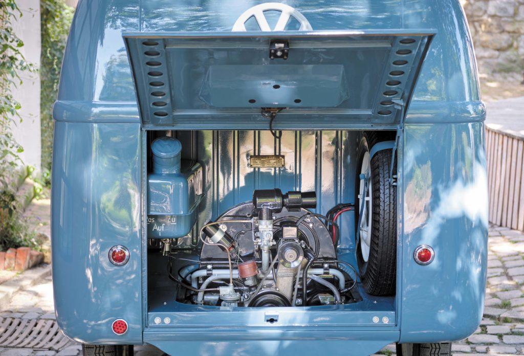 VW T1 Bulli Sofie silnik