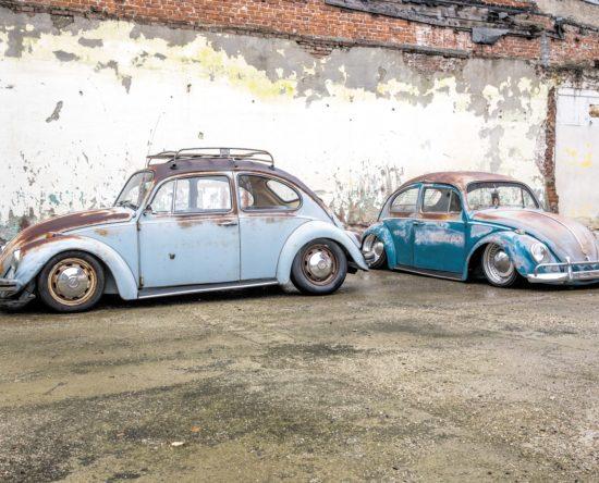 Dwa Garbusy w stylu rost i rast z rolu 1964 i 1967