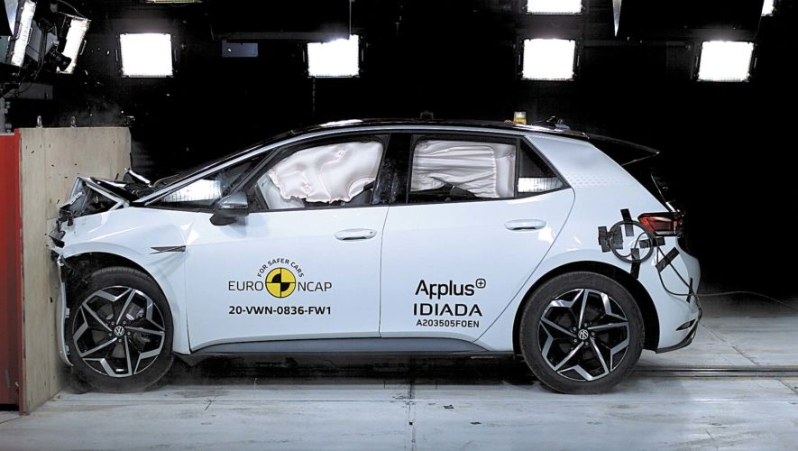 VW ID.3 test Euro NCAP