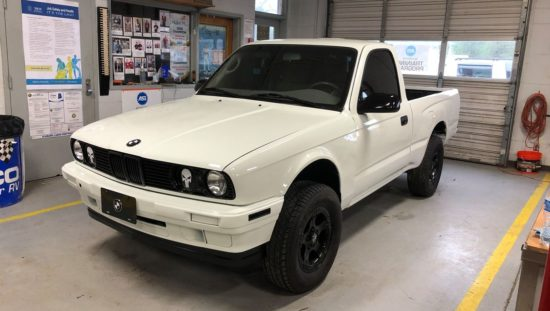 BMW E30 Toyota Pickup