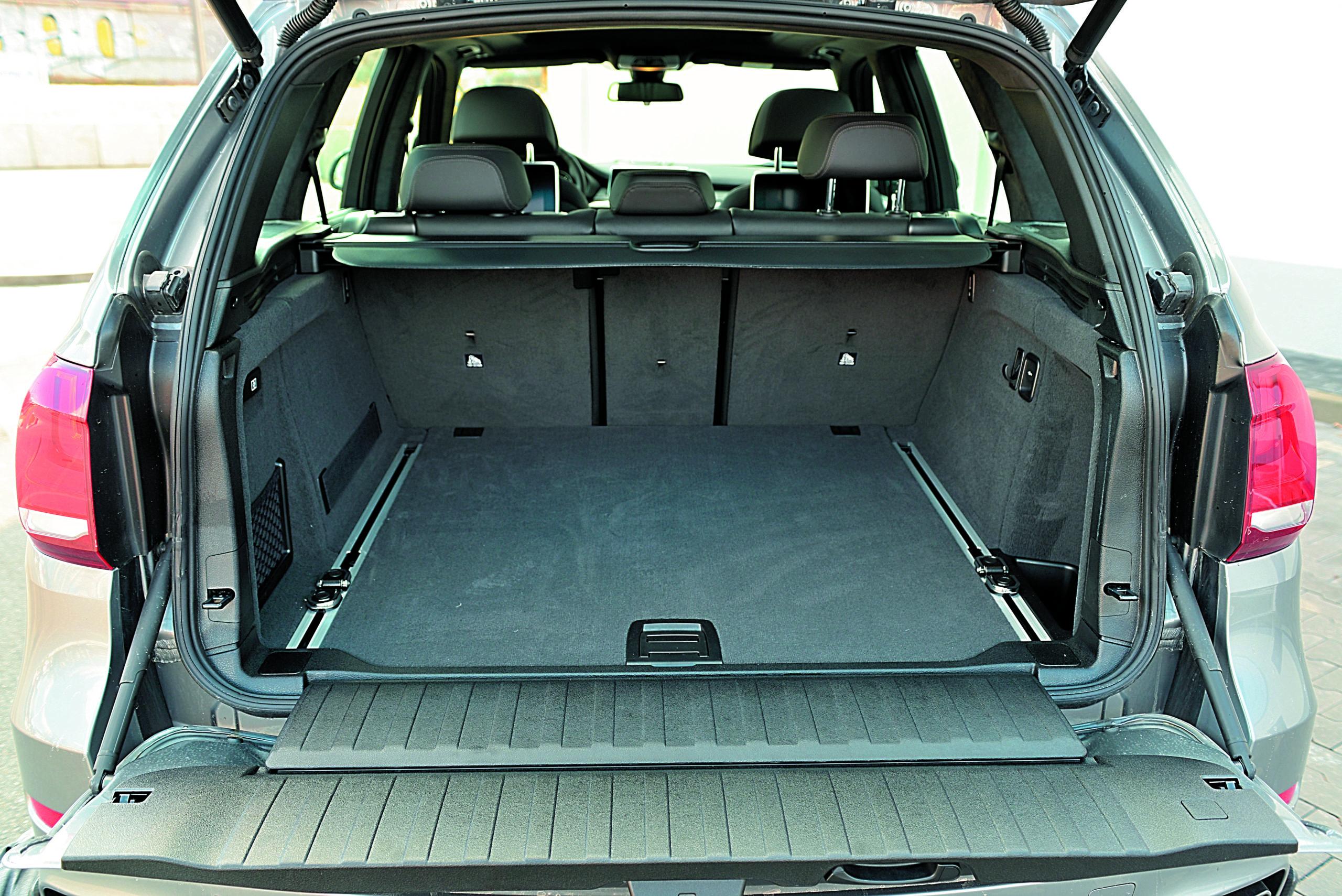 BMW X5 M50d-bagażnik