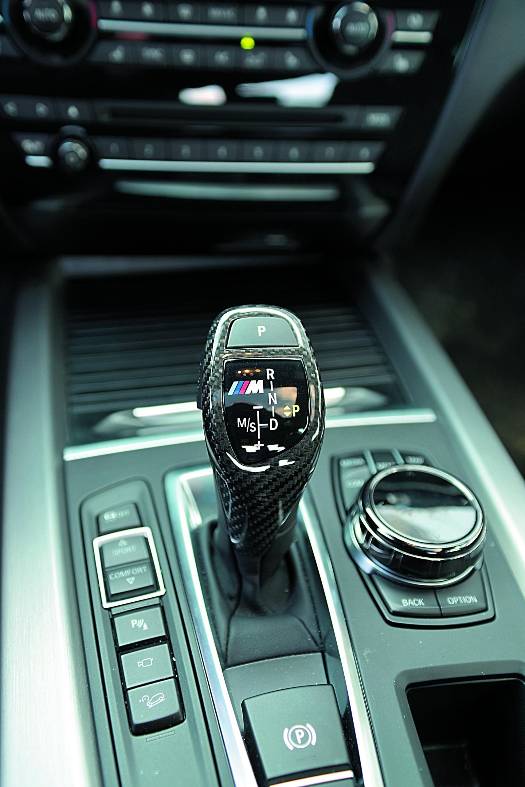 BMW X5 M50d-dzwignia zmiany biegów