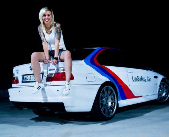 Tuning BMW E46 M3 auto z właścicielką