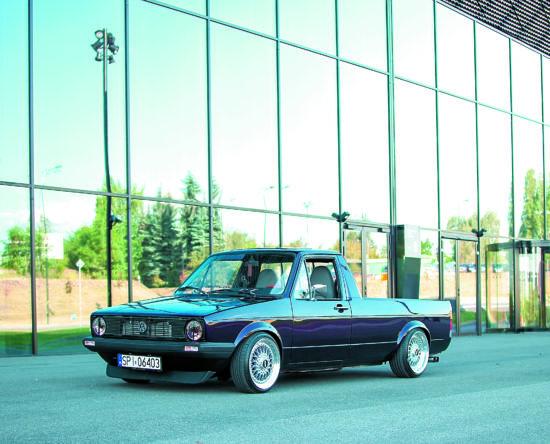 Tuning VW Caddy 1 widok z przodu