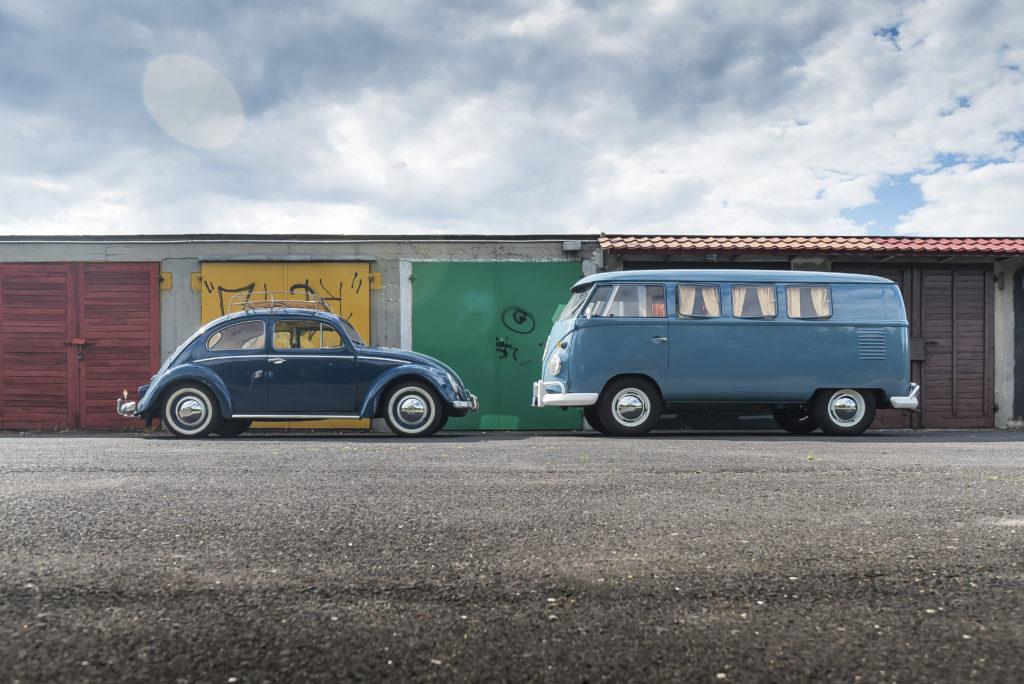 VW T1 Westfalia SO23 i Garbus 1200