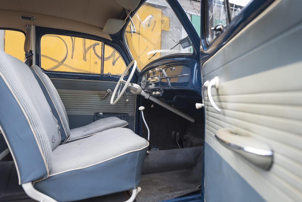 VW Garbus 1200 przednie fotele