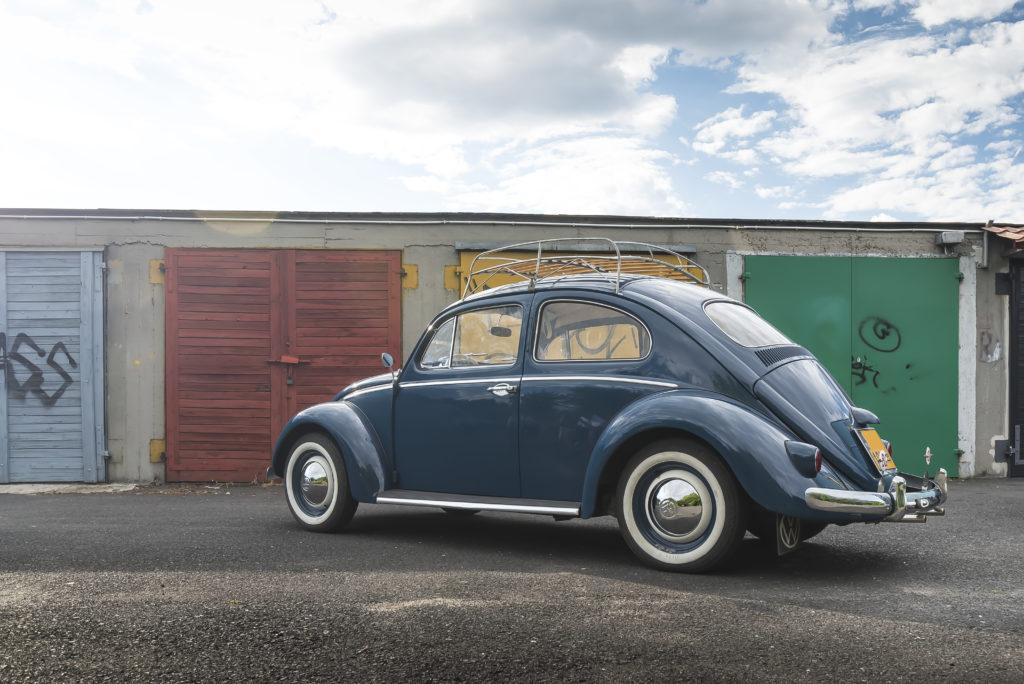 VW Garbus 1200 widok od tyłu