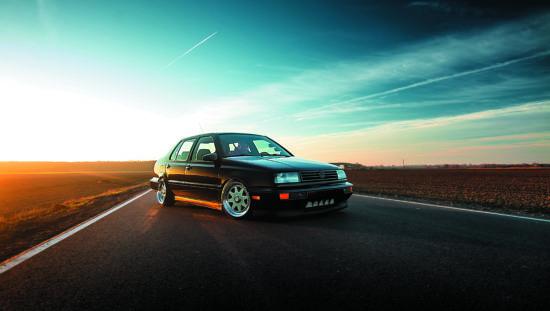 Tuning VW Vento T 1.9 GT TDI widok z przodu