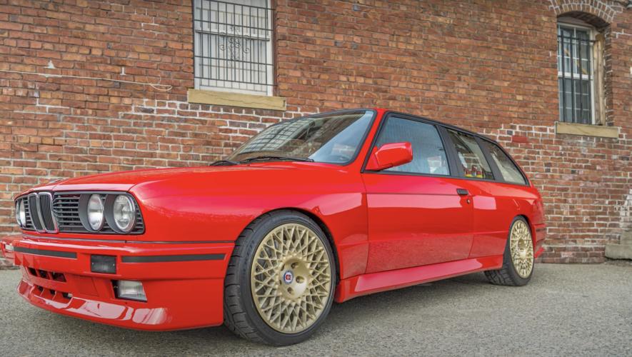 E30 Touring coupe V8 M3