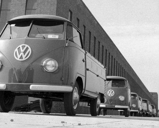 Hannover fabryka VW T1 Bulli