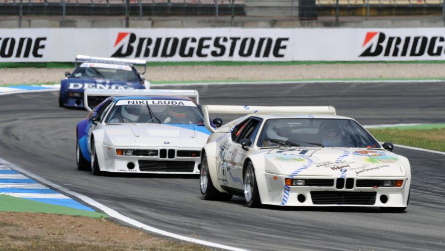 BMW M1 na torze Hockenheim 2008 rok