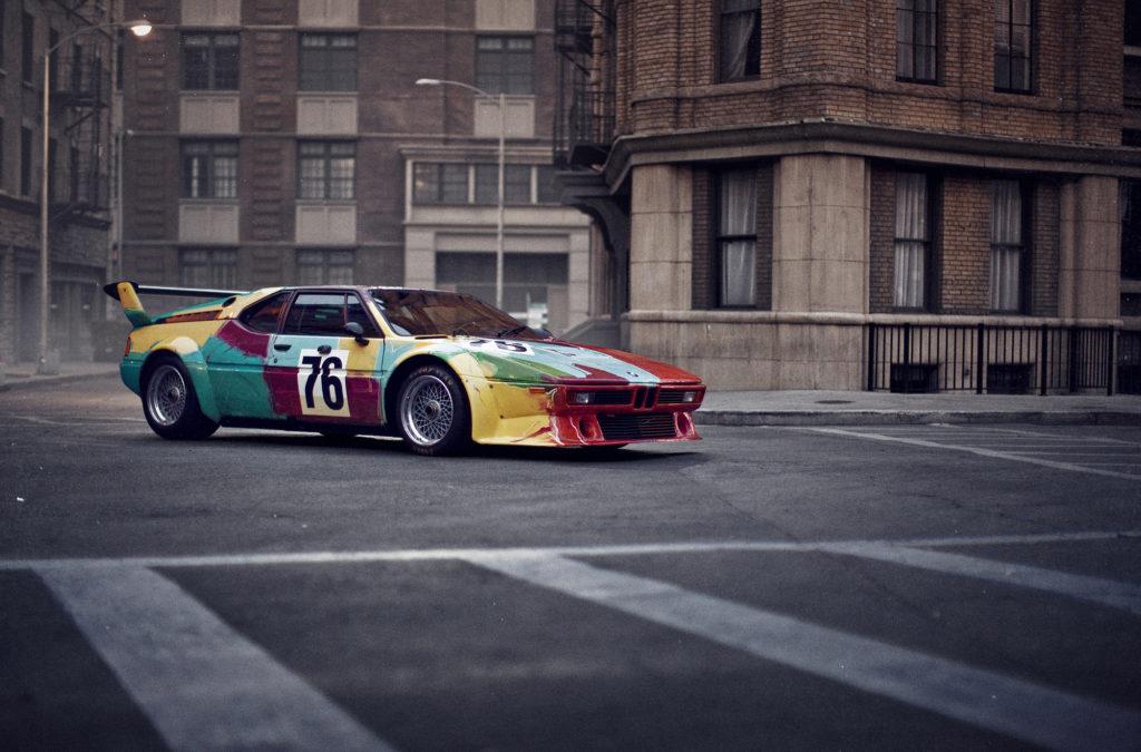 BMW M1 Art car by Andy Warhol