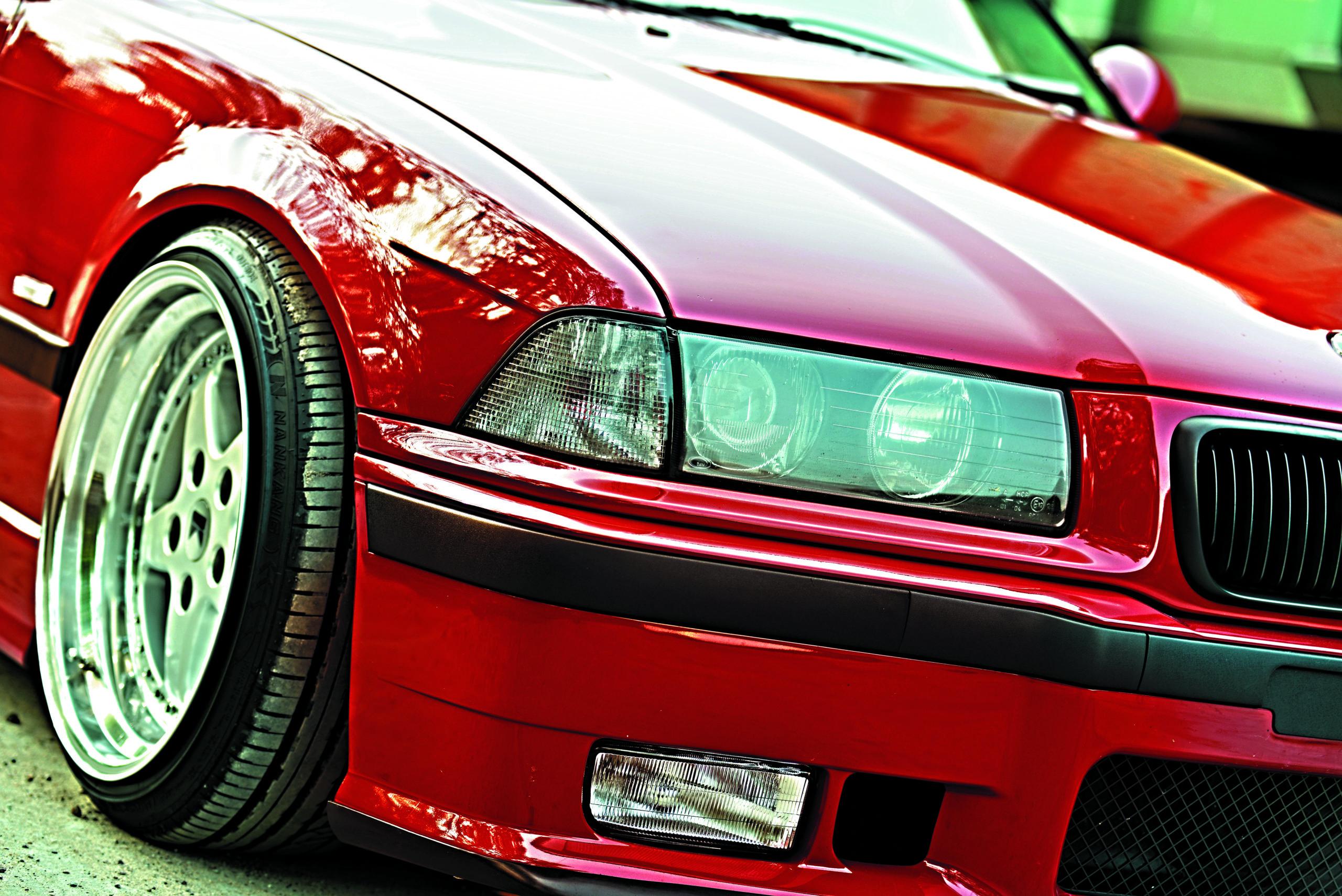 Tuning-BMW-E36-Cabrio-przednie reflektory